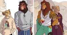 Lion King Fan Art, Lion King 2, King Art, Disney Lion King, The Lion King Characters, Movie Characters, Disney Fan Art, Disney S, Modern Day Disney