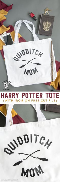 Diy Quidditch Mom Tote Bag Project She Has A Free For The