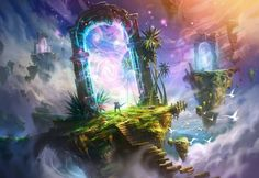 looks like a magical portal to me