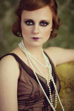 Some 20s makeup I have done in the past.
