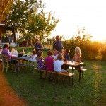 De Marken- appartement en mini camping- perfect voor kids- 1 a 2 keer per week table d'hote.  www.villatiamo.nl