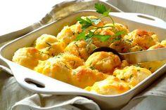 Przepis na Zapiekane ziemniaki serowe