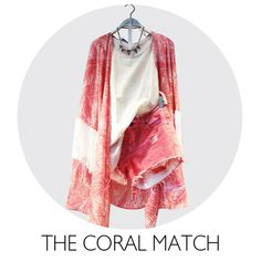 Don't forget to match your attitude as well! Fringes, Flower Prints, Mood Boards, Don't Forget, Attitude, Kimono Top, Coral, Tops, Women