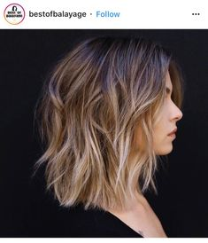 Verliebt in die Ombré Balayage uren # . ombre hair Verliebt in die Ombré Balayage uren # … … Medium Bob Hairstyles, Short Hairstyles For Women, Casual Hairstyles, Short To Medium Haircuts, Cute Short Haircuts, Hairstyles Pictures, Hairstyles 2018, Wedding Hairstyles, Blunt Cut Hairstyles
