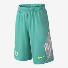 KD Half Print Boys' Basketball Shorts. Nike Store
