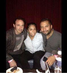 Nils, Maria and Omar