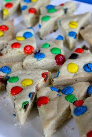 Baked Perfection: M&M Sugar Cookie Bars