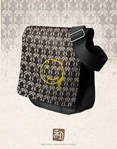 221B Baker Street Turned Into a Shoulder Bag