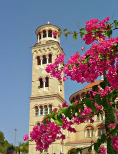 Cathedral of Saint Nectarios of Aegina - Greece (by CameliaTWU)