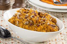 Simple Mashed Sweet Potatoes | MrFood.com