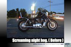 Screaming night hog (Before)