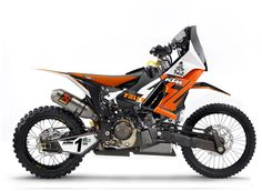 Love this radical KTM 450 Rally concept #motorcycle!