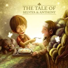 """""""Just Put Your Hand in Me""""  The Tale of Selviya & Anthony series.  Illustration by: Evan Raditya Pratomo. www.papercaptain.com"""