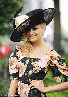 Pixie Lott at Royal Ascot's ladies day, 20 June 2013.