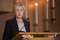 Hillary Clinton seeks the Democratic Party nomination to run for president.