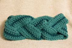 Crochet Braided Infinity Scarf from Liv and Lucy's