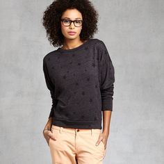 Stars Sweatshirt found on Zady - www.zady.com/products/308 - via @Zady #zady #style #fashion #sundry