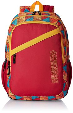 ecartcheck - American Tourister 27 Lts Hashtag Red Casual Backpack (Hashtag 04_8901836130850)