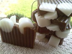 Hot Coco Soap----Makes me want to have a cup.