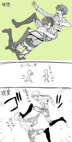 Attack on Titan ~~ When Eren attacks, Levi must counterattack !