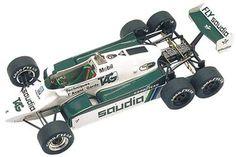 Resultado de imagem para ウィリアムズ FW08B