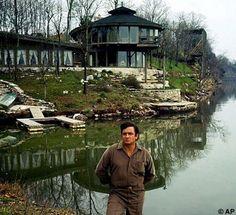 200 Claudill Drive, Hendersonville, Tenn. - home of Johnny Cash & June Carter