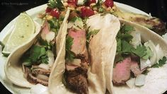 The Rising Spoon Blog: Mexican Street-Style Steak Tacos #simple #delicious