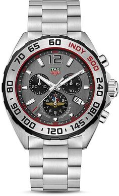 TAG Heuer Formula One - Now on Sale at a Big Discount off Retail with Free Overnight Shipping at AuthenticWatches Stylish Watches, Luxury Watches, Cool Watches, Rolex Watches, Watches For Men, Tag Watches, Fancy Watches, Latest Watches, Popular Watches