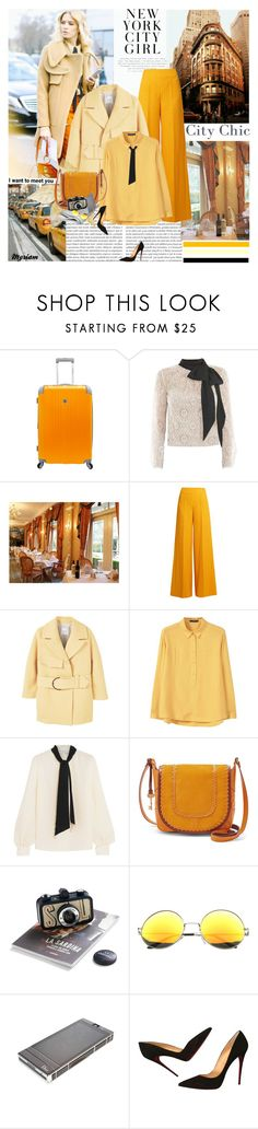 """I want to meet you"" by lovemeforthelife-myriam ❤ liked on Polyvore featuring Oris, Guide London, Beverly Hills Country Club, Victor Xenia, Emilia Wickstead, MANGO, Lanvin, FOSSIL, SW Global and Christian Dior"