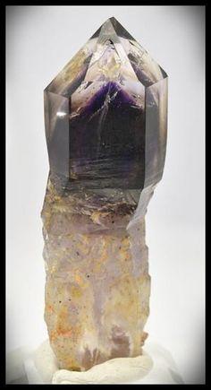 Brandberg Crystal 42 g 70mm Smoky Amethyst Skeletal Scepter