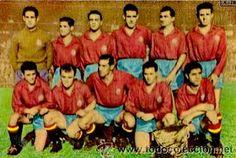 EQUIPOS DE FÚTBOL: SELECCIÓN DE ESPAÑA contra Suecia 08/11/1953