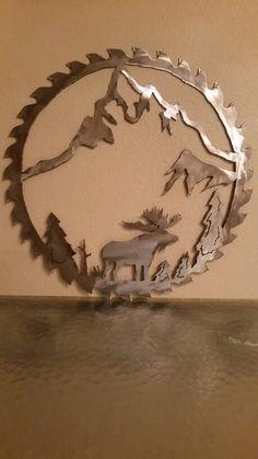 Metal Artwork, Metal Wall Art, Art Flowers, Flower Art, Railroad Spikes Crafts, Plasma Cutting, Welding Art, Metal Sculptures, Metal Projects
