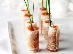 Radish roll with tuna