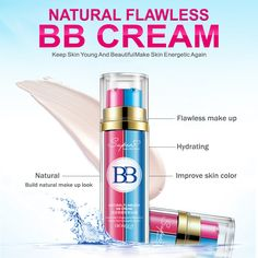 BIOAQUA Double Tube BB cream Hydrating face cream Perfect Cover Blemish Whitening Waterproof Sunscreen BB Cream for beauty women