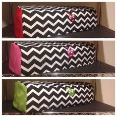 Chevron Pattern Covers for the Cricut Explore One, Explore Air and all the previous Cricut machines. Quilted with a beautiful pattern at Betzy's Designs.