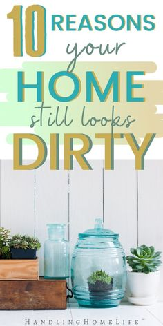 House Cleaning Tips: Why Your House Still Doesn't Look Clean Home cleaning ideas for your cleaning routine. House cleaning tips and tricks for making sure your home LOOKS as clean as it really is! Helpful household hacks you can use today! Household Cleaning Tips, Cleaning Checklist, Cleaning Recipes, House Cleaning Tips, Diy Cleaning Products, Cleaning Hacks, Cleaning Schedules, Cleaning Routines, Daily Schedules