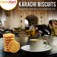 From the province of undivided Sindh rule, ‪#KarachiBakery‬ is the Nawab among the bakers of ‪Hyderabad‬. Get ‪#DoubleDelight ‬Buiscuits and #OsmaniaBiscuits fresh from the oven at www.fomokart.com
