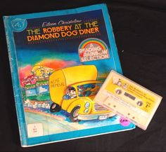 The Robbery at the Diamond Dog Diner Audio Book & Cassette Tape Set