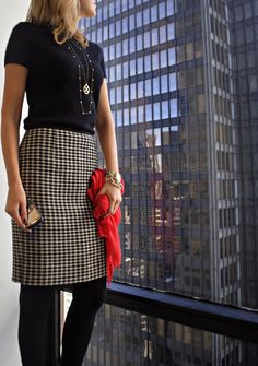 The Classy Cubicle: Tory and Kate: a match made in houndstooth heaven