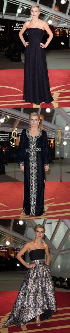 Fabulously Spotted: Melita Toscan du Plantier In Christian Dior & Abu Jani Sandeep Khosla - 2013 Marrakech International Film Festival - http://www.becauseiamfabulous.com/2013/12/melita-toscan-du-plantier-wearing-christian-dior-13th-marrakech-international-film-festival/