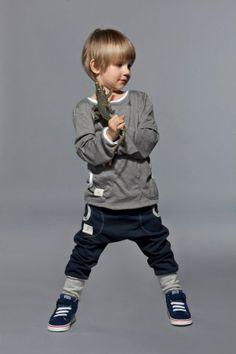 Pants One- Blue/Gray