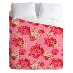 Laura Redburn Hydrangea Doubled Duvet Cover   DENY Designs Home Accessories