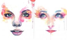 25 Watercolour paingints by Marion Bolonesi