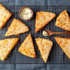 The BEST Savory Gluten Free Cheese Scones | Gluten Free on a Shoestring Gluten Free Cheese Scones, Gluten Free Pastry, Dairy Free Cheese, Gluten Free Treats, Gluten Free Flour, Gluten Free Baking, Gluten Free Desserts, Gf Recipes, Gluten Free Recipes