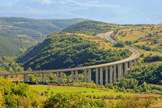 The Gran Sasso freeway in Abruzzo offers fantastic views. Know more about Abruzzo here.