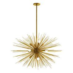 ARTERIORS Home Zanadoo Gold 12 Light Chandelier( 20%off $3200)/$3900