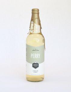 Cider Bottle Package Design - Seattle Cider Company Harvest Series 2014