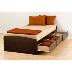 Espresso Twin Mate's Platform Storage Bed with 3 Drawers - Overstock™ Shopping - Great Deals on Kids' Beds