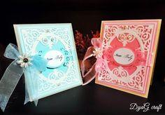 "Handmade Atelier: Invitatie botez ""New baby"" fetite sau baietei"