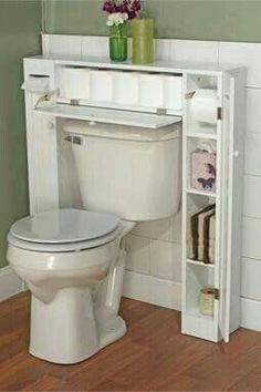 Extra bathroom storage
